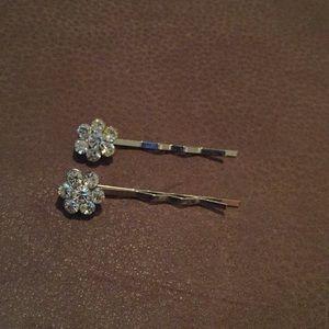 $5 Last call! Crystal bobby pins